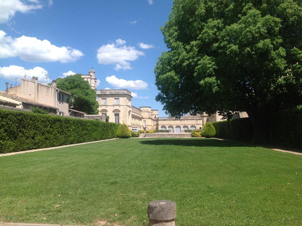 Le magnifique château de Massillargues