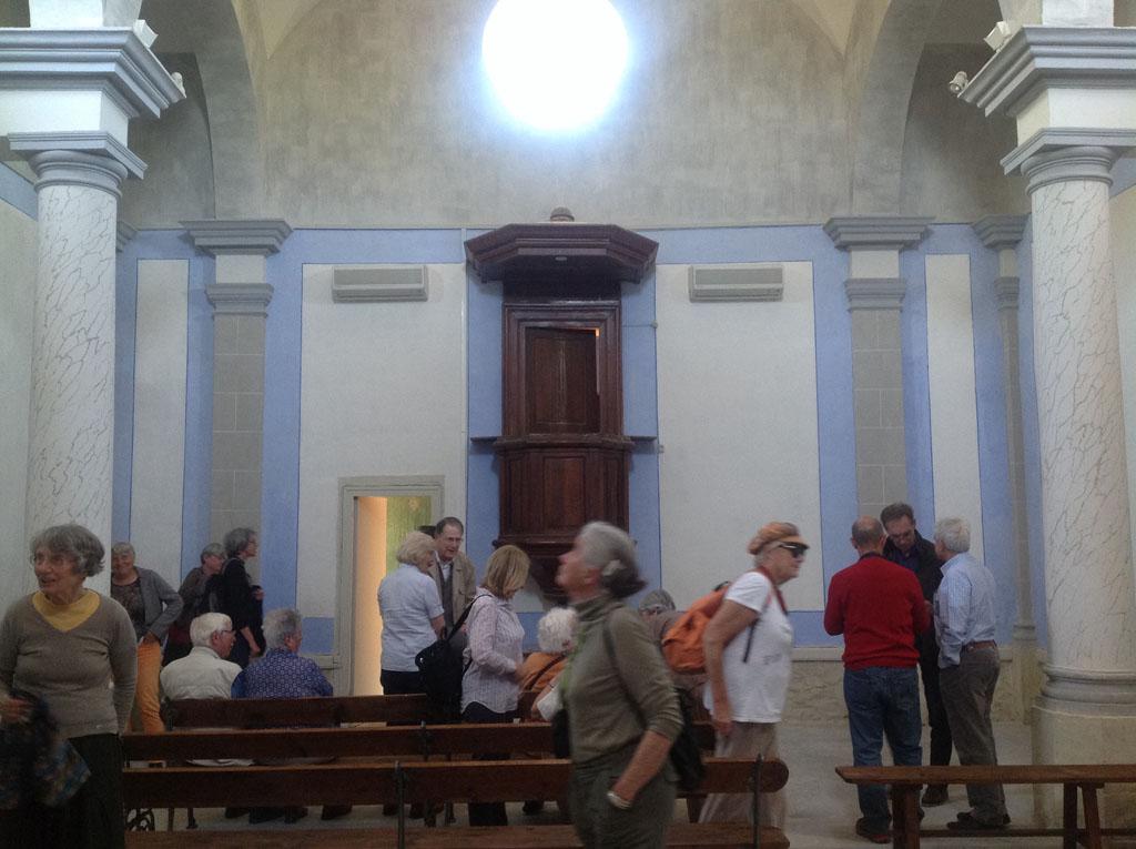 Le temple restauré de Vestric
