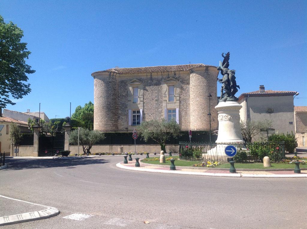 Le château de Vestric.