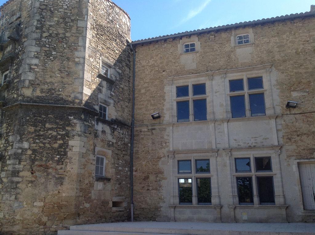 Le château de Generac.