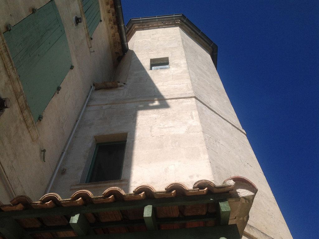 Le château de MANDUEL.