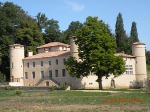 Le 29 juin 2009, visite du Château Saint André au Poët-Célard