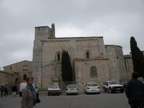 Façade médiévale de l'abbatiale de St Gilles (Gard)