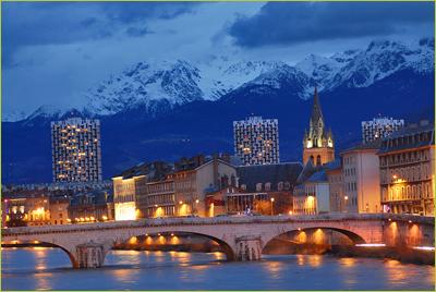 La ville de Grenoble et ses monuments