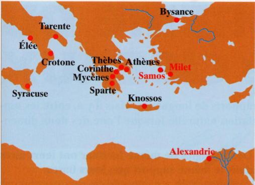 Thalès de MILET et Pythagore de SAMOS