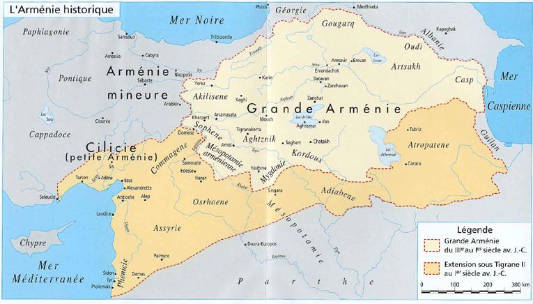 Histoire de l'Arménie.