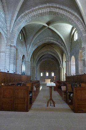 L'abbaye d'Aiguebelle (Marylène Marcel-Ponthier) à DIEULEFIT SANTE, à 16 h 30.