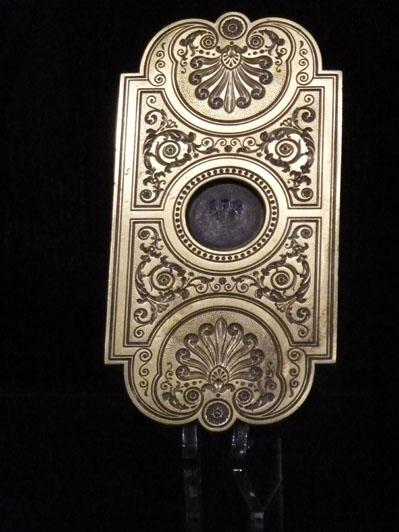 Fer à dorer issus de la collection Simier. René Simier (1772-1843) est l'un des grands relieurs français du XIXème siècle