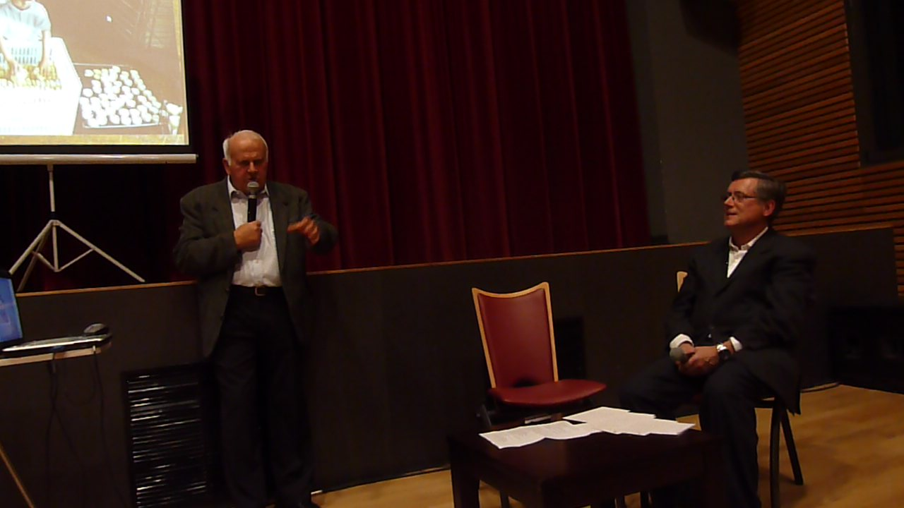 Roger CAVET, LE 13.11.2014 nous raconte l'histoire de la maison CAVET, et du picodon.