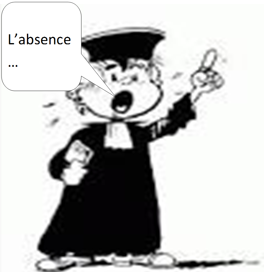 1. l'absence