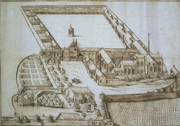 En 1384, Philippe le Hardi, duc de Bourgogne, fonda aux portes de Dijon, une chartreuse au lieu-dit Champmol, qui devait faire office de nécropole familiale.