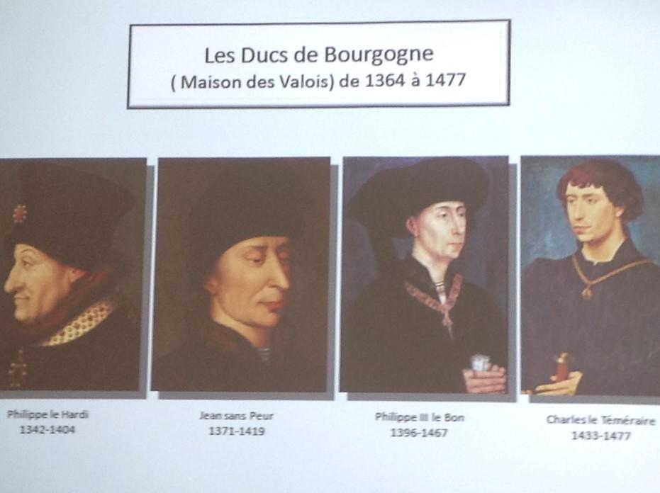 Les Ducs de Bourgognes