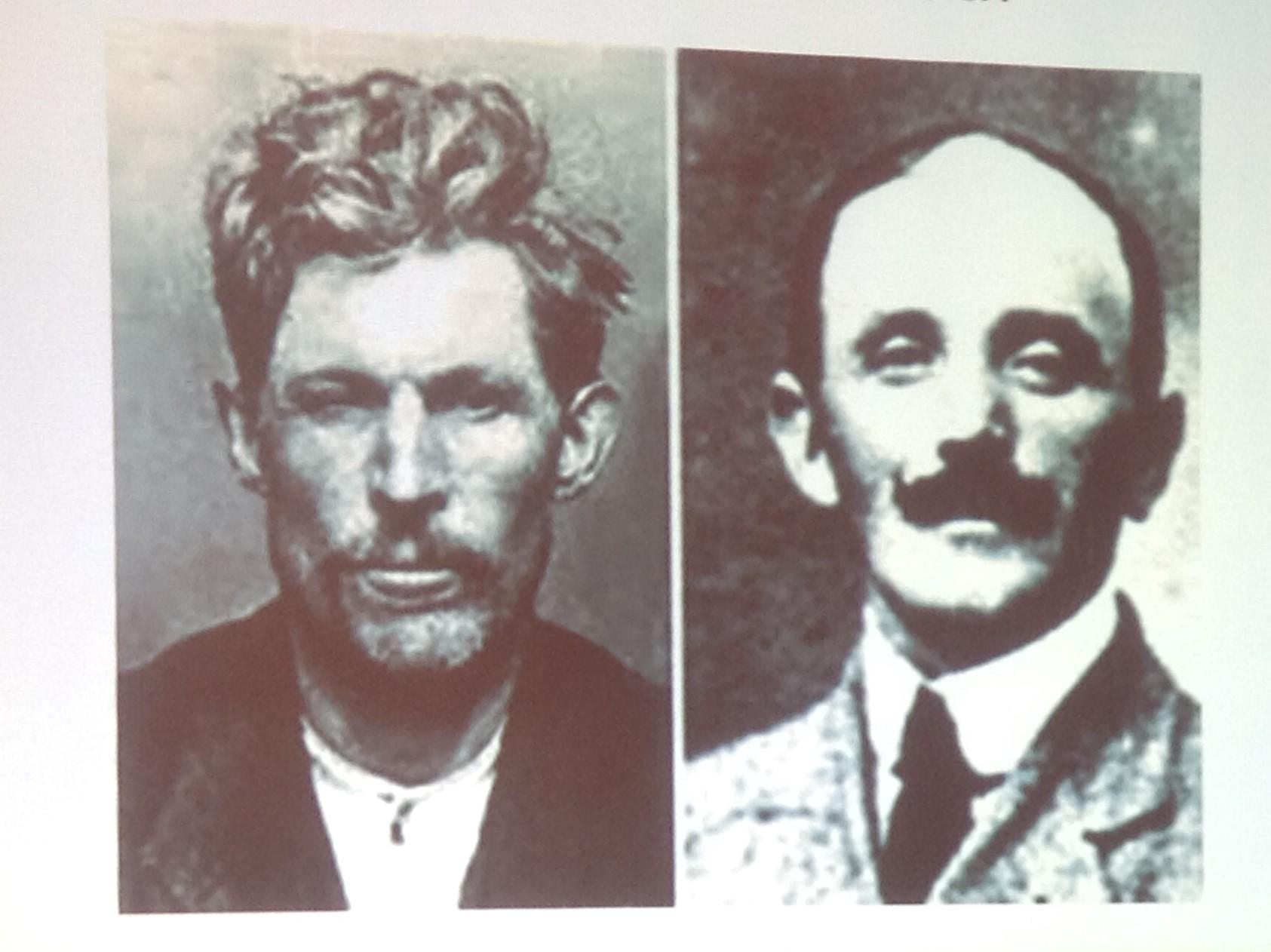 Les deux protagonistes : à gauche, Guillaume SEZNEC, à droite Pierre QUEMENEUR