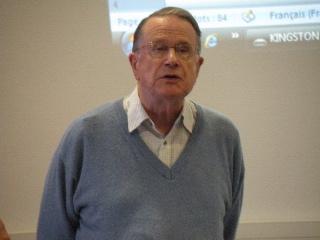 conférence de Jean Morin sur la draperie à Dieulefit