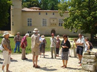 Visite du château St André