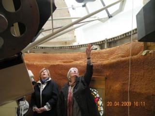 Visite du télescope chez Jacques Soubeyran