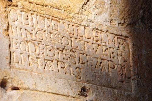 Inscription latine.