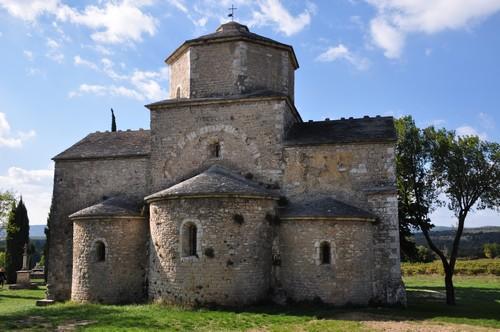 Façade ouest de l'église
