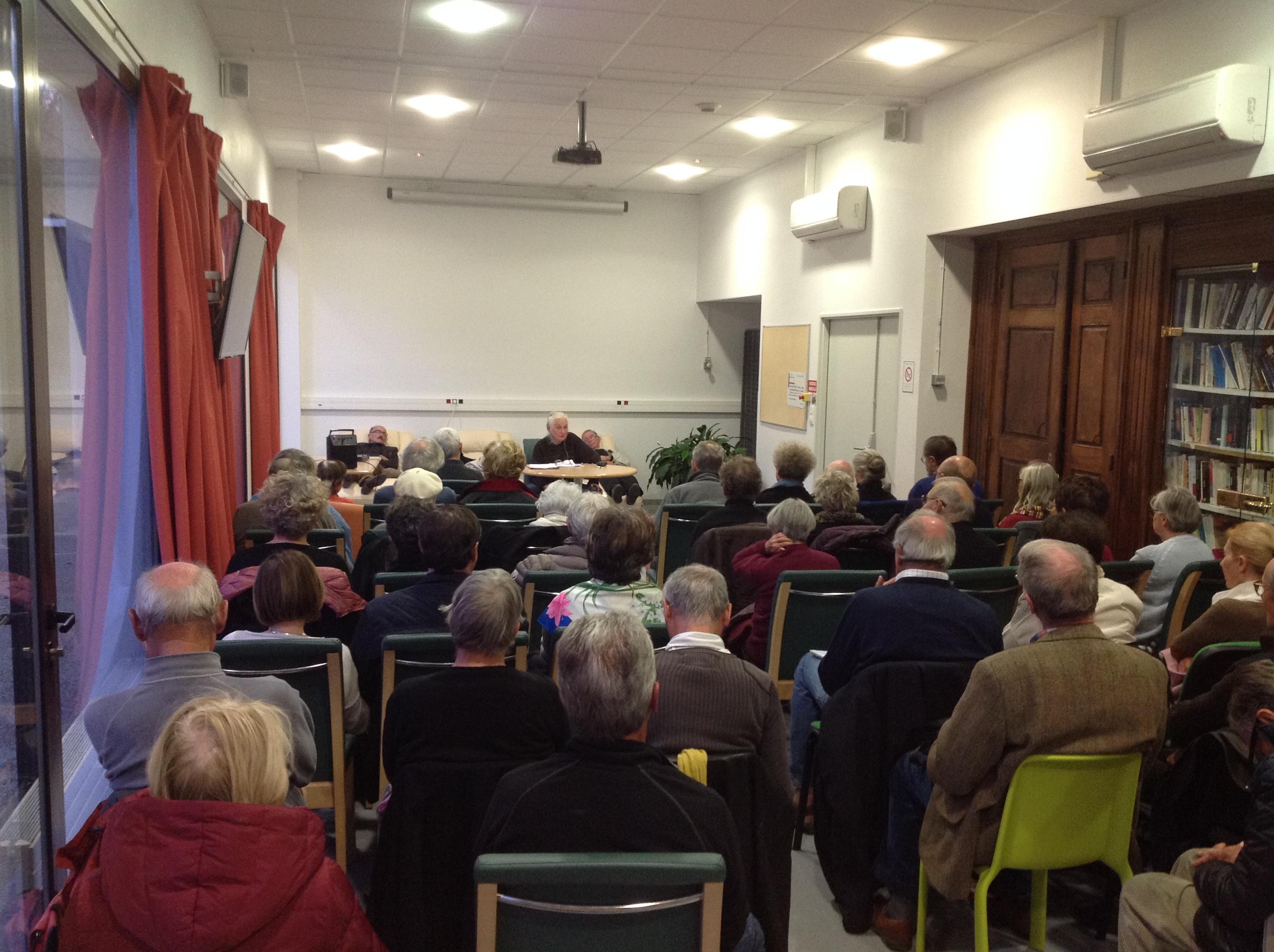 Le 08 novembre, Jacqueline CHABBI, devant un bel auditoire passionné, a parlé de l'islam médiéval.