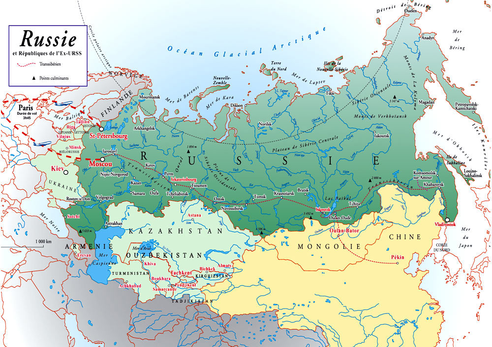 L'evolution de la Russie par Pierre Morel
